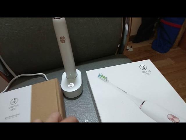 Зубная щётка 🌋 Xiaomi SOOCAS X3 Sonic Electric Toothbrush ЗА 2300 р ⚠️ Распаковка Обзор ⚡