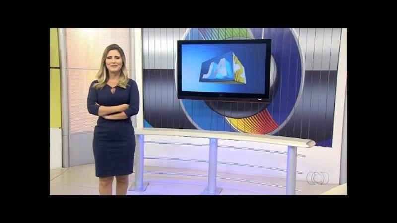 Trechos do Jornal Anhanguera 2ª Edição com Mariana Martins: Edição de 14/01/2017
