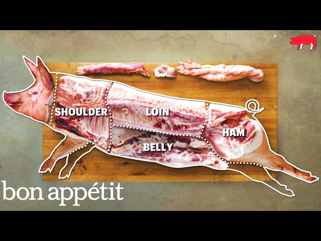 How to Butcher an Entire Pig Every Cut of Pork Explained Handcrafted Bon Appetit