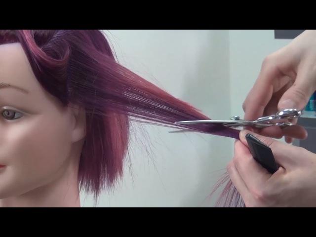 Мастер-класс стрижка каре Backcutting HAIRCUT. Артем Любимов видео Обучение парикмахеров » Freewka.com - Смотреть онлайн в хорощем качестве