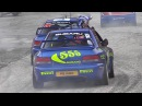 Colin McRae Tribute Champions Parade Show at RallyLegend 2017 Loeb Solberg Ogier More