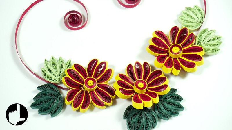 Paper Quilling Flowers: DIY Wall Decor | HandiWorks116
