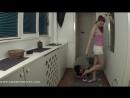 Goddess Victoria Foot fetish Фут-фетиш Femdom раб вылизывает и нюхает кроссовки trampling