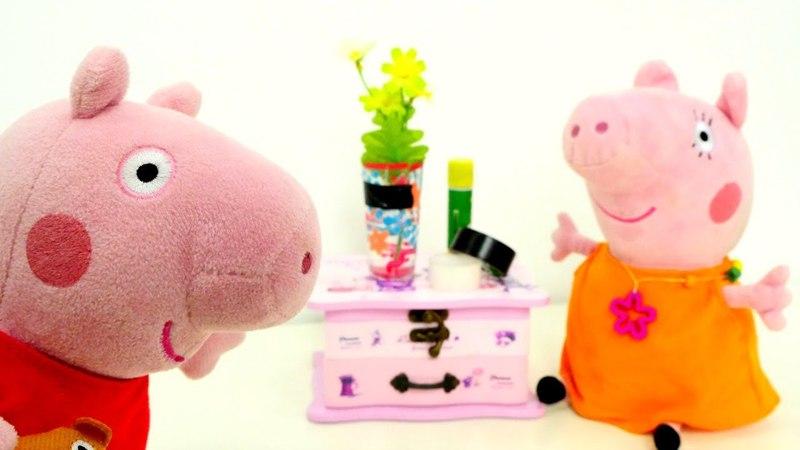 Peppa Pig en español El jarrón de Mamá Pig Vídeos chistosos