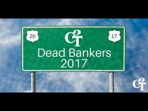 DEAD BANKERS 2017: The List of Mysterious Worldwide Deaths Grows Ever Longer...