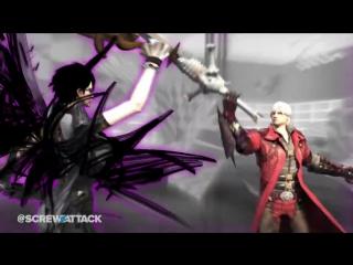 Dante VS Bayonetta