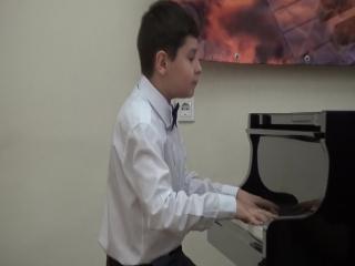 Выступление на международном конкурсе Вдохновение 17.12.2017 Шафеев Давид
