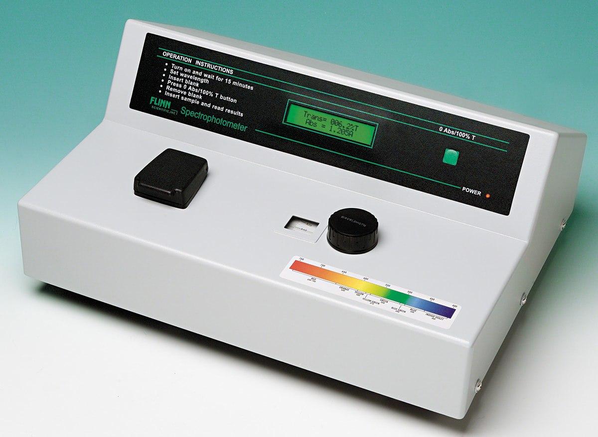 Что такое спектрофотометр?