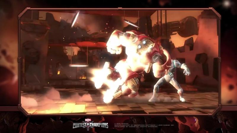 Hulkbuster (Халкбастер)   Marvel Contest of Champions