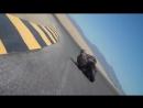 Ghilli man Draggin his helmet going fast