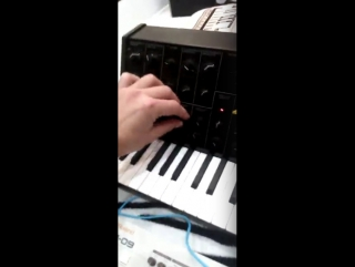 Korg MS-20 Mini Review by Math Geek