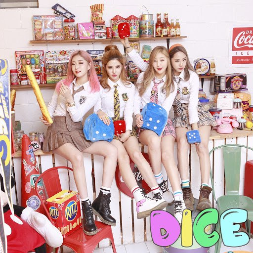 "Dice альбом 1st Digital Single Album ""PA PA"""