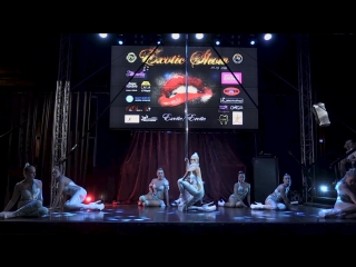 Exotic show 2018 , BESTIES,1 место в категории