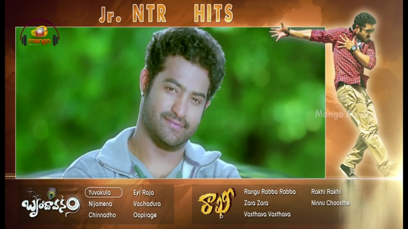 Jr Ntr Superhit Video Songs _ Mango music