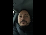 Инстаграм. Прямой эфир. Со скита в Боровск. 12.01.2018