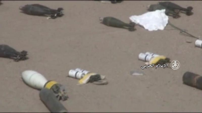 Боеприпасы захваченные сирийской правительственной армией в провинции Дэйр-эз-Зор