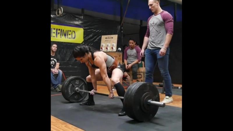 Стефани Кохэн - тяга 225 и 238 кг (56 кг)