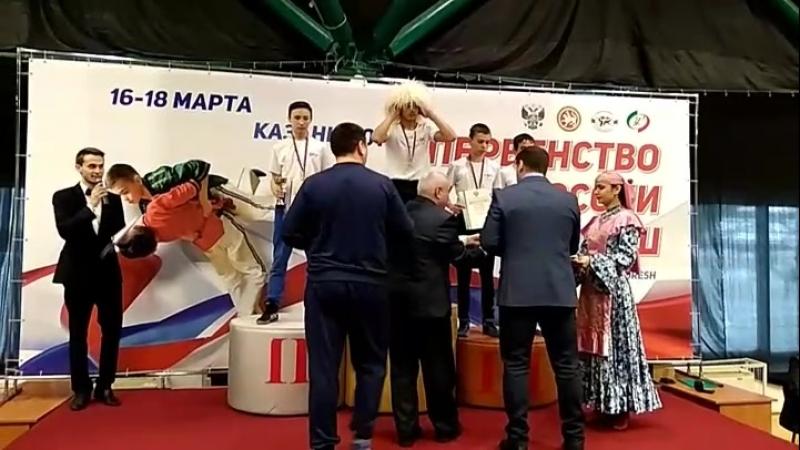 Награждение Первенство России 2018
