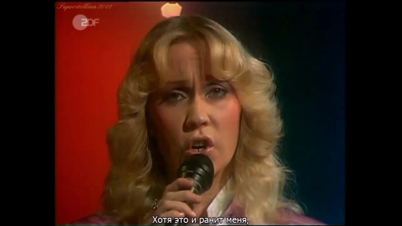 ABBA - The Winner Takes It All. 1980 (русские субтитры)