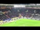 Фанаты «Халла» забросали футбольное поле теннисными мячами