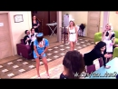 Карина Клименова и Настя Крачук танцуют TWERK