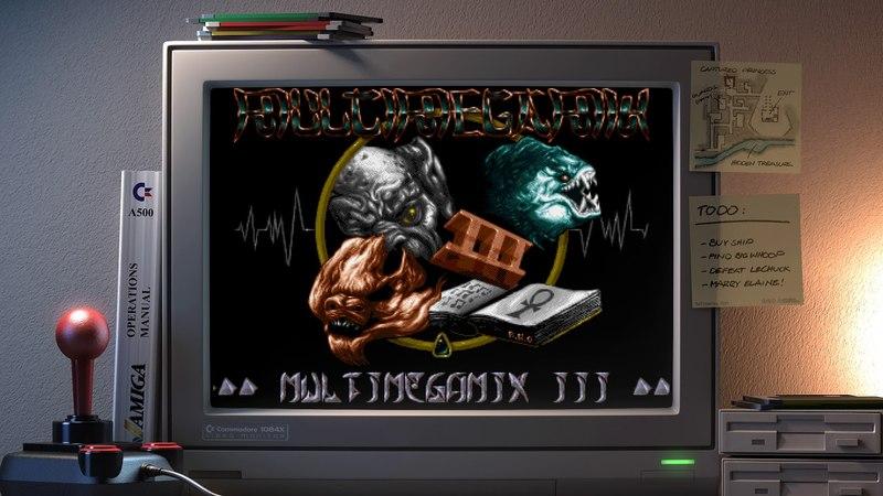 Amiga music: S.L.L - Kefrens Multi Megamix 1-3 (A1200🎧Dolbyfied)