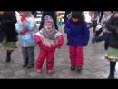 Веселый танец на Масленице в Ониксе, г. Тула