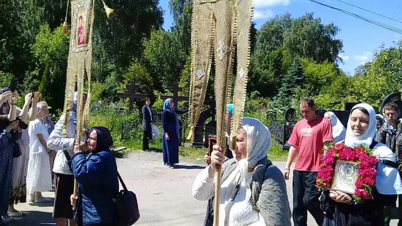 встреча в Леонтьевском храме