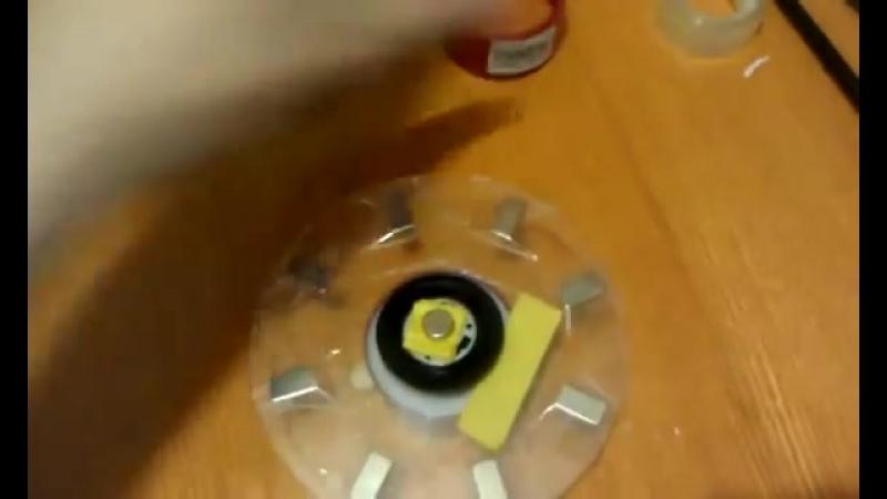 Работающая модель магнитного двигателя генератора. Free energy magnet motor