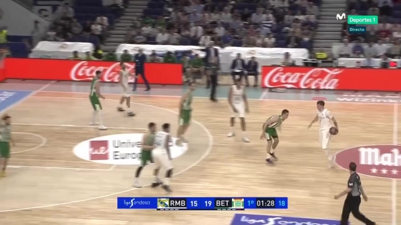 Luka Doncic - Highlights of his first career triple-double 17 Pts,10 Reb, 10 Ast vs. Real Betis 09.05.2018