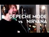 Depeche Mode Nirvana Time for Heroes mashup