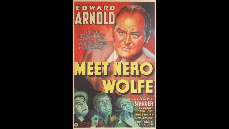 Meet Nero Wolfe (1936) Edward Arnold, Lionel Stander, Dennie Moore, Rita Hayworth