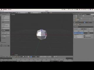 Blender 3D моделирование - Урок @8 - Сглаживание объектов_HD.mp4