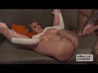 Slapping choking anal