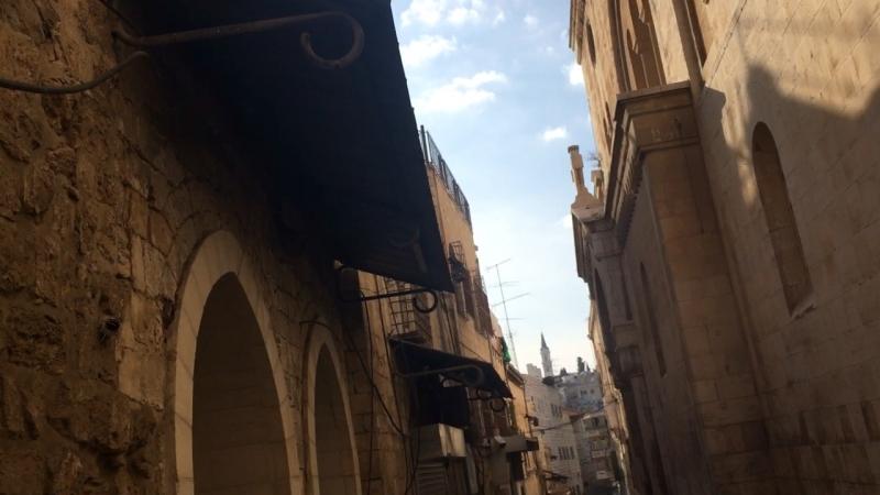 Иерусалим, около мечети
