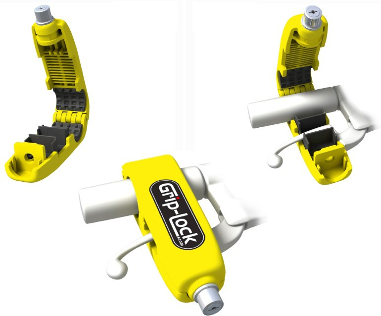 Grip-Lock - противоугонное устройство для мотоцикла
