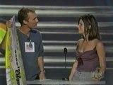 Matthew McConaughey and Sandra Bullock on 1999 Teen Choice Awards