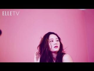 ELLE 6月封面人物 _ Krystal 外表高冷內心火熱