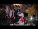Крещение Анечки_клип