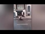 Moped gang 'armed with samurai sword, iron bars and machete' raid luxury watch store on London's Fleet Street in terrifying atta