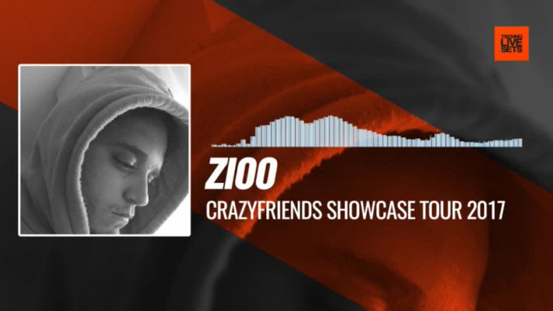 Zioo - Crazyfriends Showcase Tour 2017 24-09-2017 Music Periscope Techno