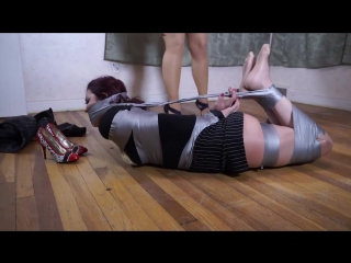 real estate agent is bound and gagged