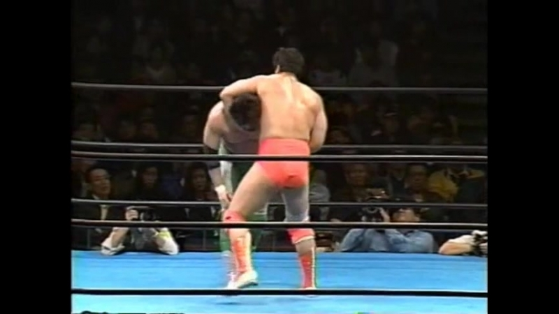 Mitsuharu Misawa vs. Kenta Kobashi (Champion Carnival) 31.03.1996