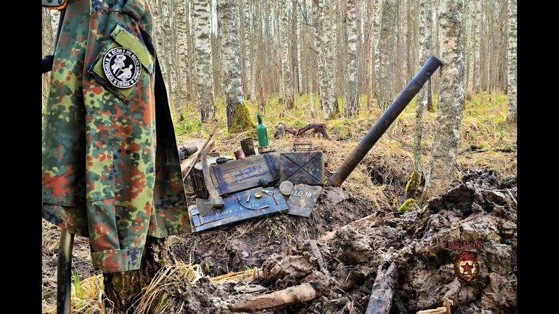 Коп по войне - Блиндаж (минус 7) / Searching with Metal Detector