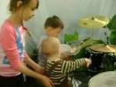 Юный барабанщик