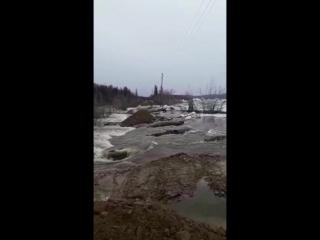 Наводнение в п Сангар