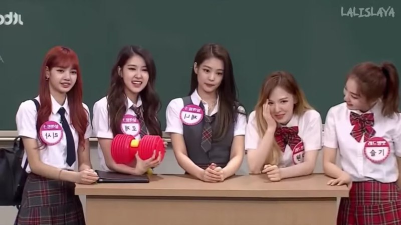 BLACKPINK and Red Velvet on Knowing Brothers (EDIT)