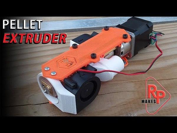 Pellet Extruder for 3D PRINTER HOTEND