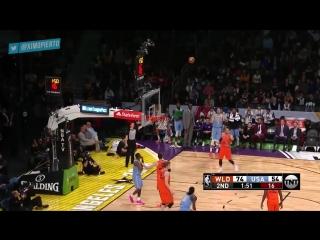 Team World vs Team USA 2018 NBA Rising Stars Game
