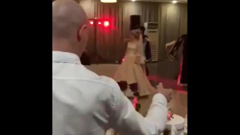 Наша невеста Машенька в платье Скарлетт